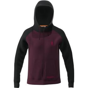 Zimtstern Riderz FZ Sweat Jacket Men, czerwony/czarny